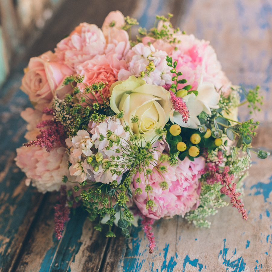 The perfect bouquet on Allthingsinspired.com
