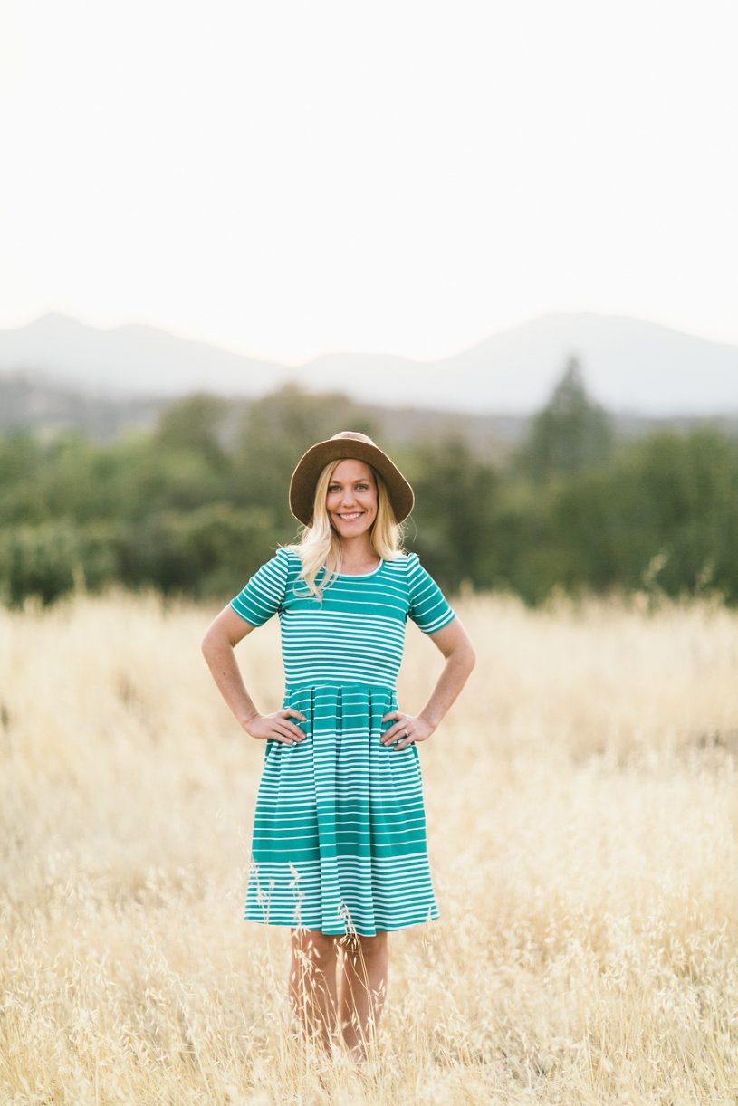"Lularoe ""Ameila"" dress. Fashion Consultant Rachel Van Auken"